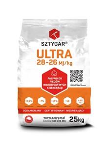 EKOGROSZEK ULTRA  <br>WĘGIEL SZTYGAR  <br>28-27 MJ/kg